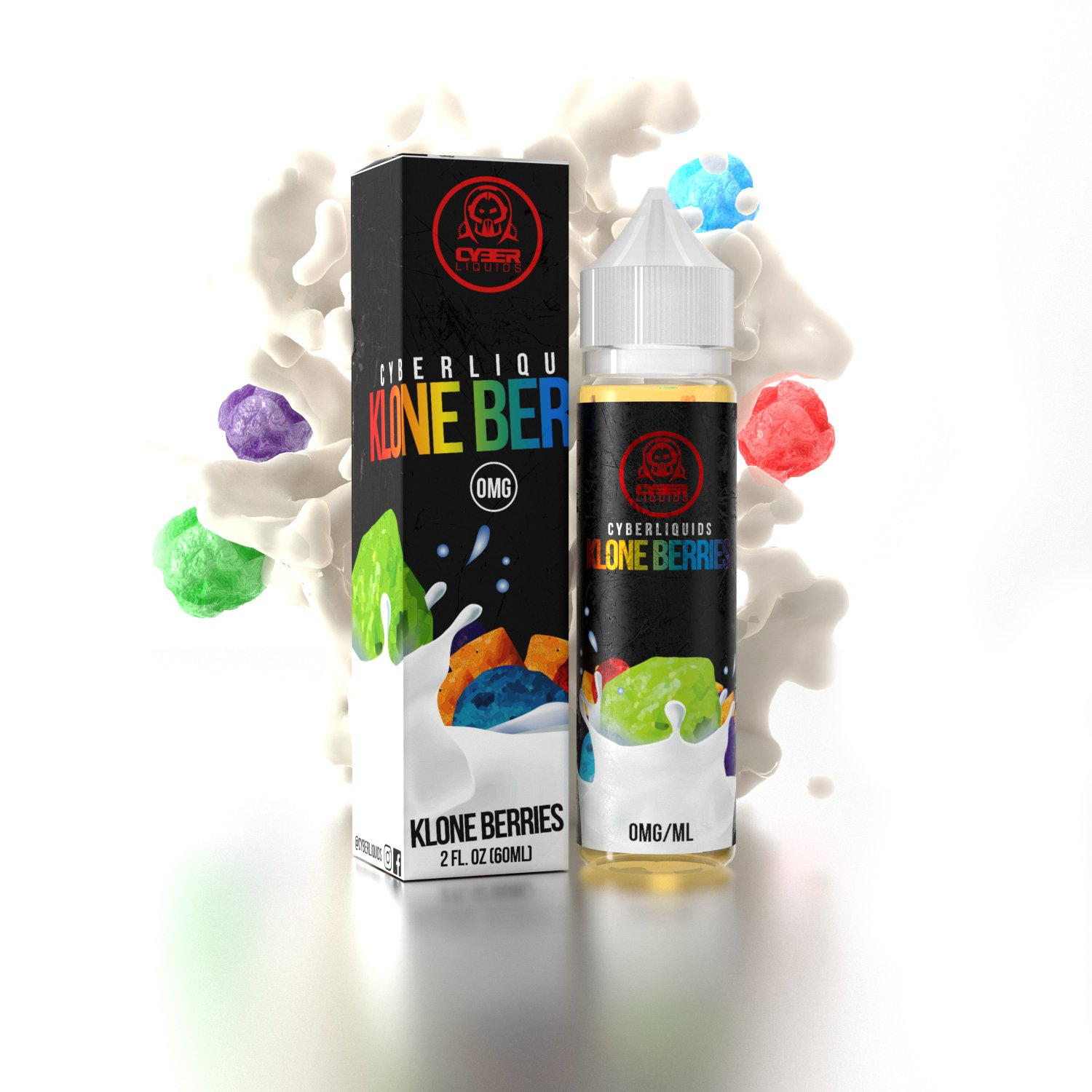 Cyberliquids – Klone Berries 50ml Short Fill