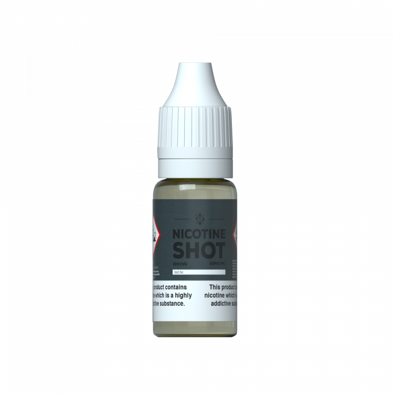 18mg/ml (1.8%) 70% VG Nicotine Shot 10ml