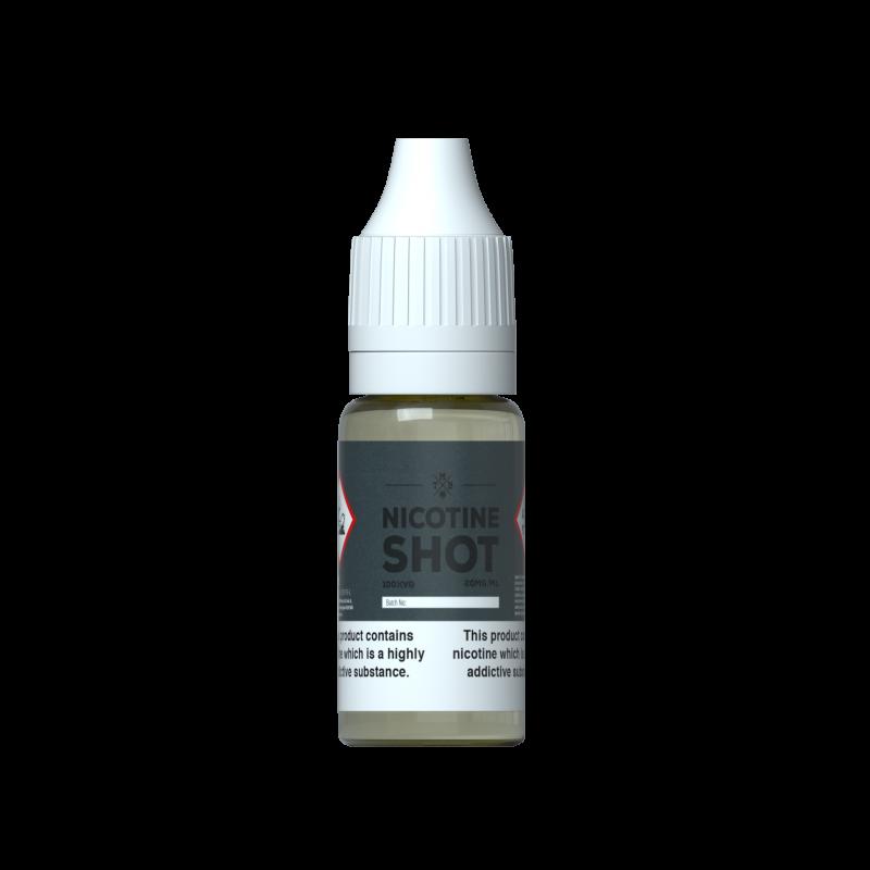 18mg/ml (1.8%) 70% VG Nicotine Shot 10ml