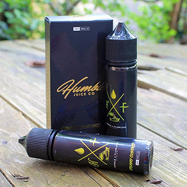 FLAWLESS X HUMBLE – CREAMY CUSTARD 2 X 50ML SHORTFILLS