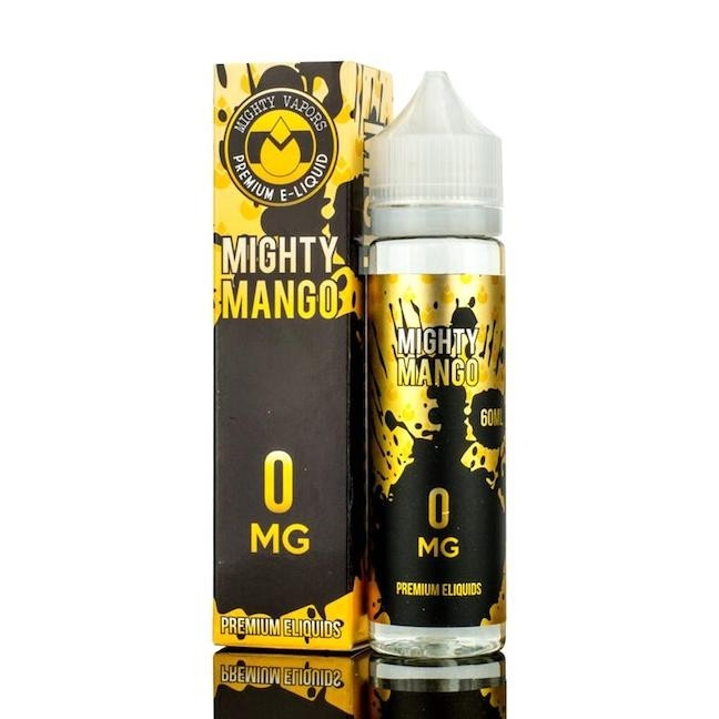 MAJESTIC MANGO 0MG 60ML BY MIGHTY VAPORS SHORTFILL E-LIQUID