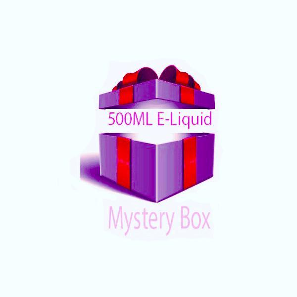 500ml E-liquid MYSTERY BOX + Nic Shots