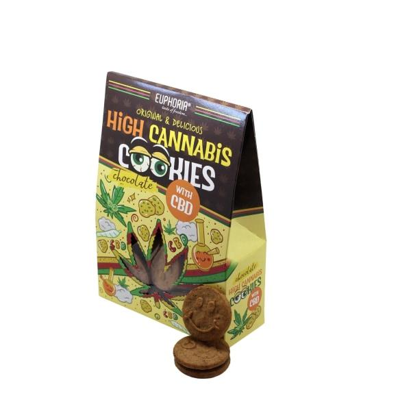 Euphoria High Cannabis Chocolate Cookies With CBD