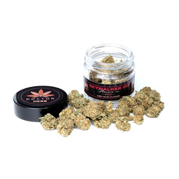 Doctor Herb Skywalker OG- 3.5g CBD Hemp Flower Tea (16% CBD)