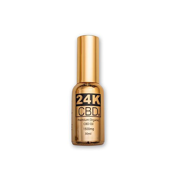 24K CBD 1500mg Premium  Organic  Hemp Seed Oil 30ML