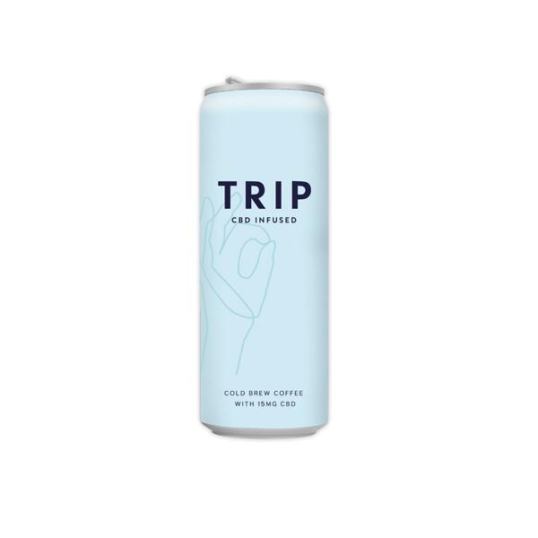 12 X TRIP 15mg CBD Infused Cold Brew Coffee Drink 250ml