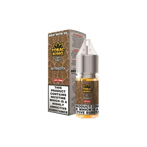 20MG Tobac King On Salt 10ML Flavoured Nic Salt (50VG/50PG)