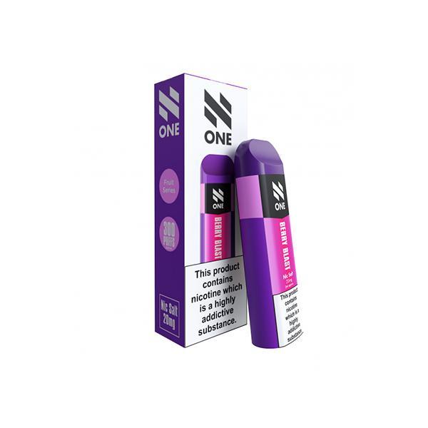 N One Disposable 20MG Nic Salt Vape Pod