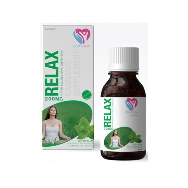 Canabidol Oral Suspension Relax 200mg CBD Oil 200ml