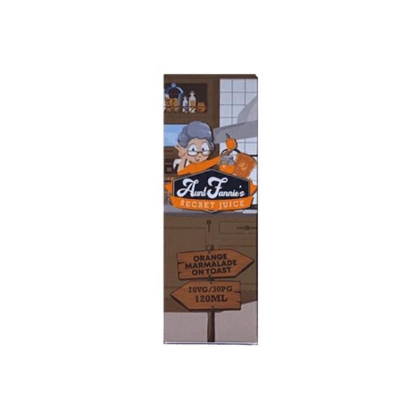 Aunt Fannie's Secret Juice 100ml Shortfill (70VG/30PG)