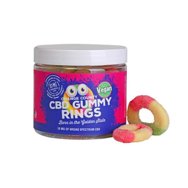 Orange County CBD 10mg Gummy Rings – Small Pack