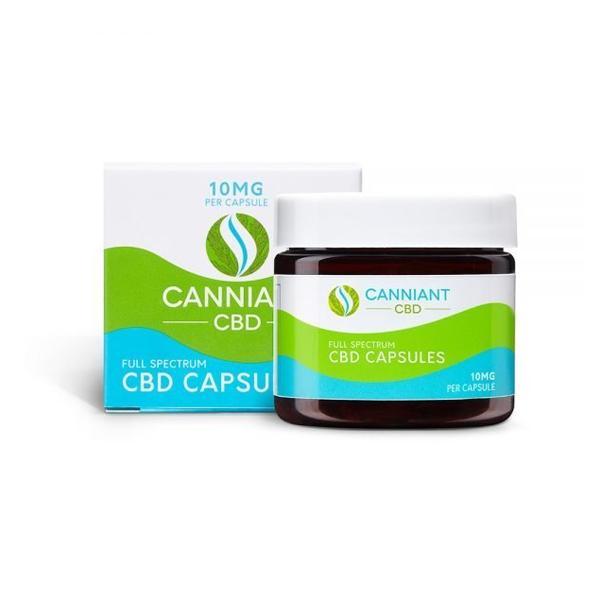 Canniant Full Spectrum 300mg CBD Capsules – 30 Capsules