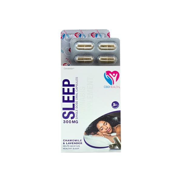 Canabidol 300mg CBD Oral Capsules 30 Caps – Sleep