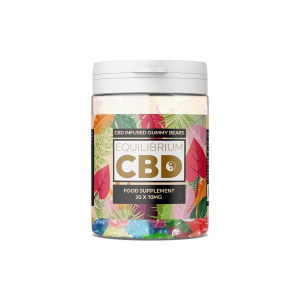 Equilibrium CBD 300mg CBD Gummy Bears