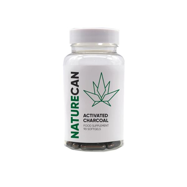 Naturecan Activated Charcoal Capsules – 90 Caps