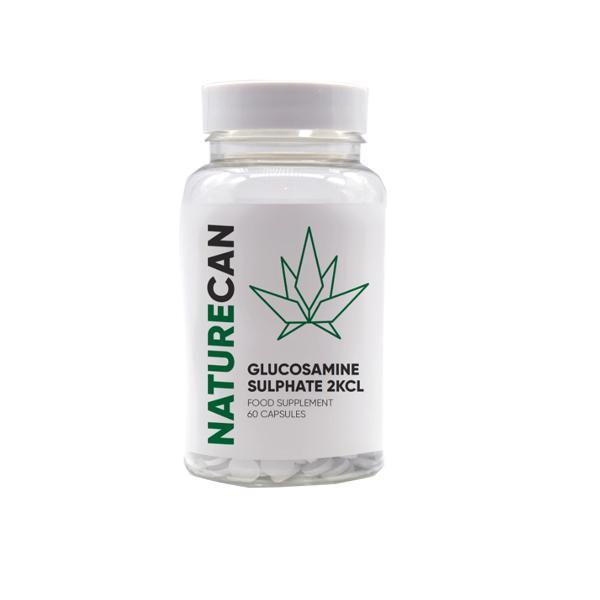 Naturecan Glucosamine Sulphate 60 Capsules