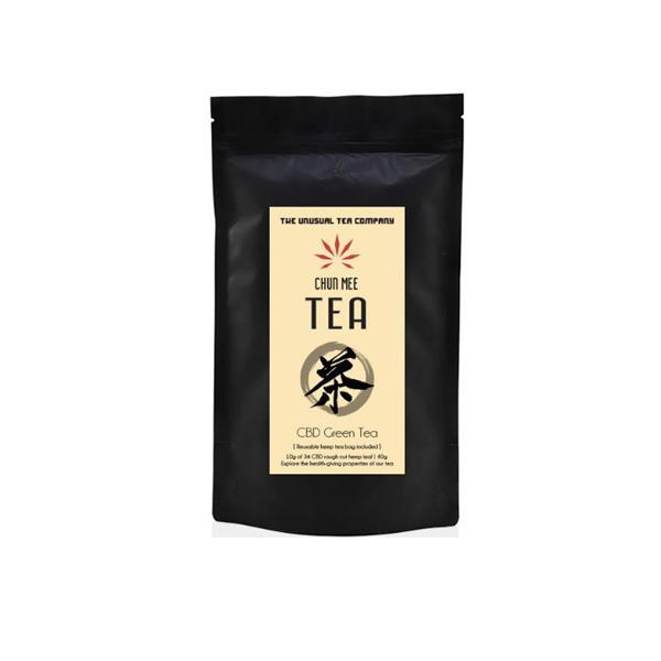 The Unusual Tea Company 3% CBD Hemp Tea – Chun Mee 40g