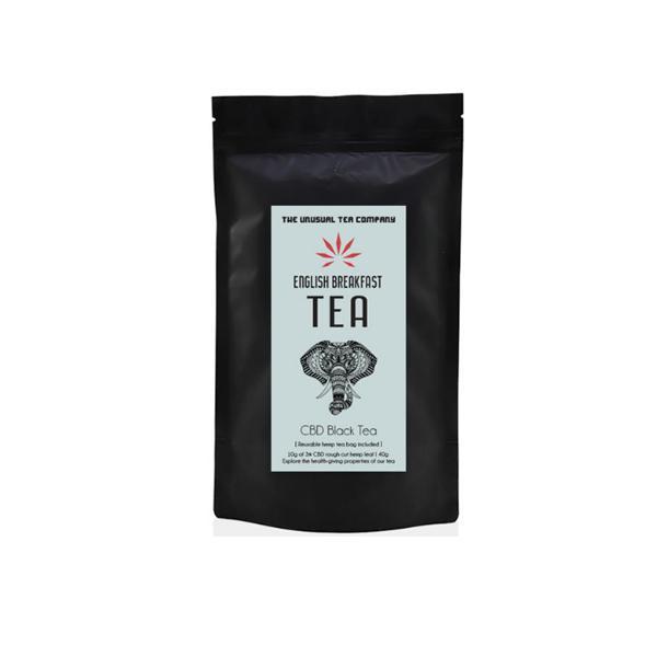 The Unusual Tea Company 3% CBD Hemp Tea – English Breakfast 40g