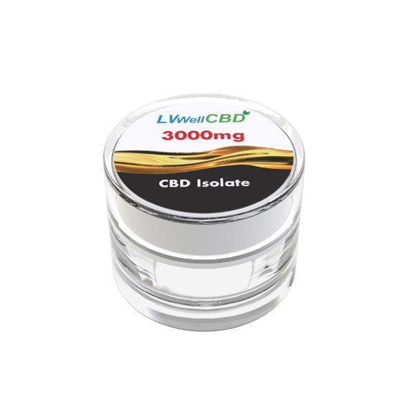 LVWell CBD 99%  Isolate 3000mg CBD