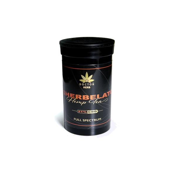 Doctor Herb Sherbelato – 3.5g CBD Hemp Flower Tea (21% CBD)