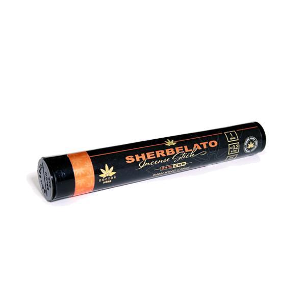 Doctor Herb Sherbelato  – Pre-Rolled CBD Hemp Flower Tea (21% CBD)