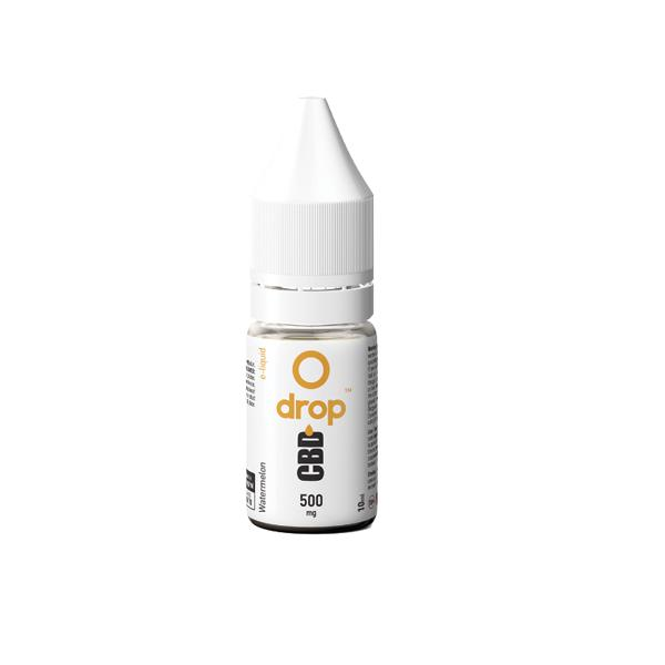CBD Drop Flavoured E-Liquid 500mg 10ml