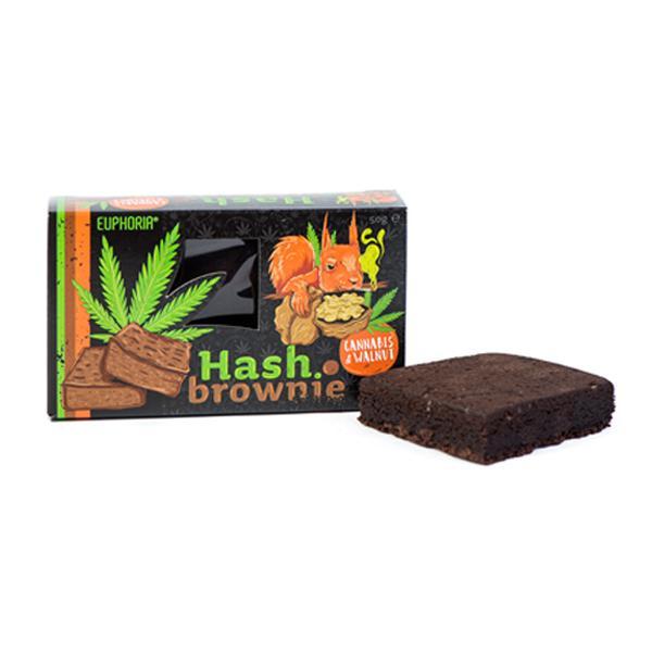 Euphoria Hash Brownie Cannabis & Walnut
