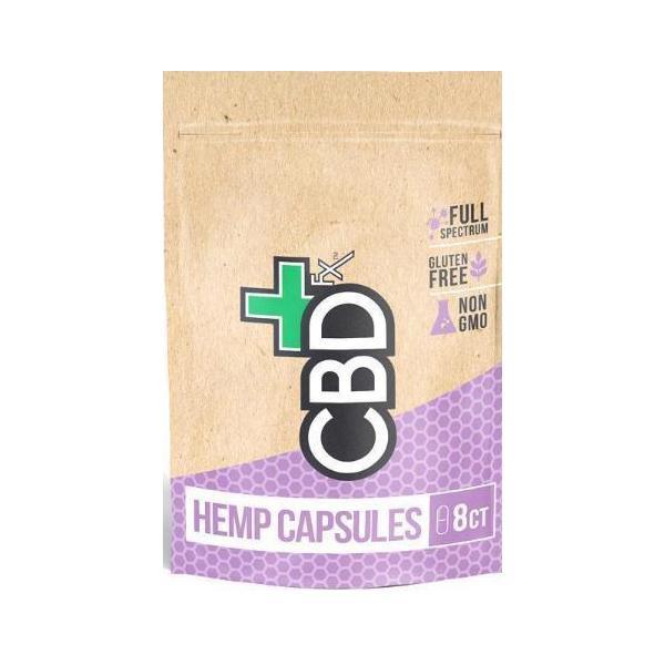 CBDFx 200mg CBD Capsules –  8ct Pouch
