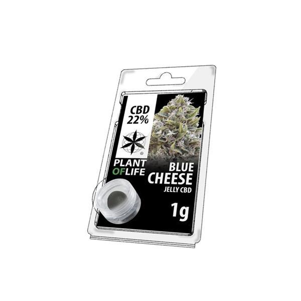 CBD 1g Jelly Blue Cheese 22%