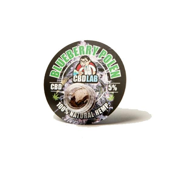 CBD LAB 1G CBD Hash Blueberry 5%