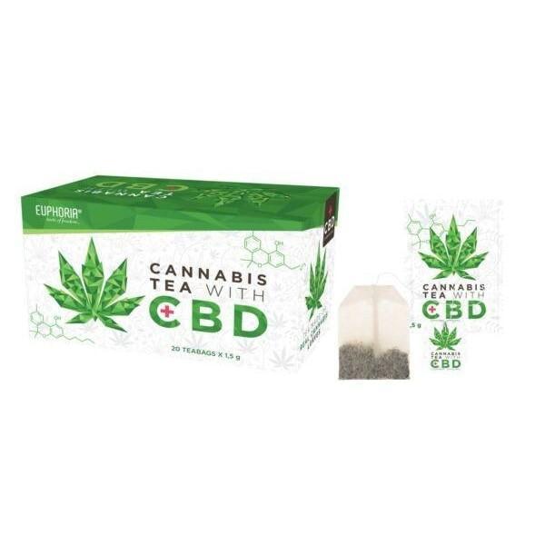 Euphoria Cannabis Tea With CBD