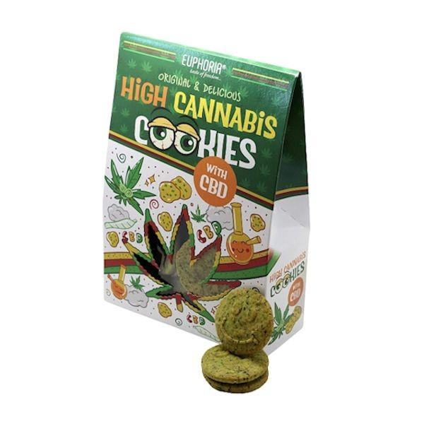 Euphoria High Cannabis  Cookies With CBD
