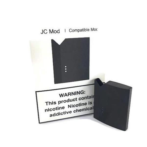 JC Black Pod Mod (Juul Pod Compatible Mod)