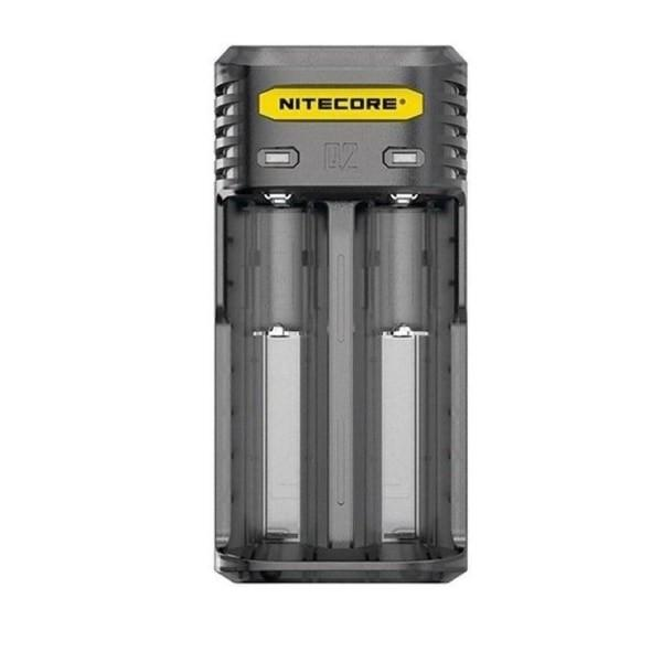 Nitecore Q2 Charger-  Clear/Black/ Yellow/Pink