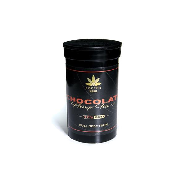 Doctor Herb Chocolato – 3.5g CBD Hemp Flower Tea (17% CBD)