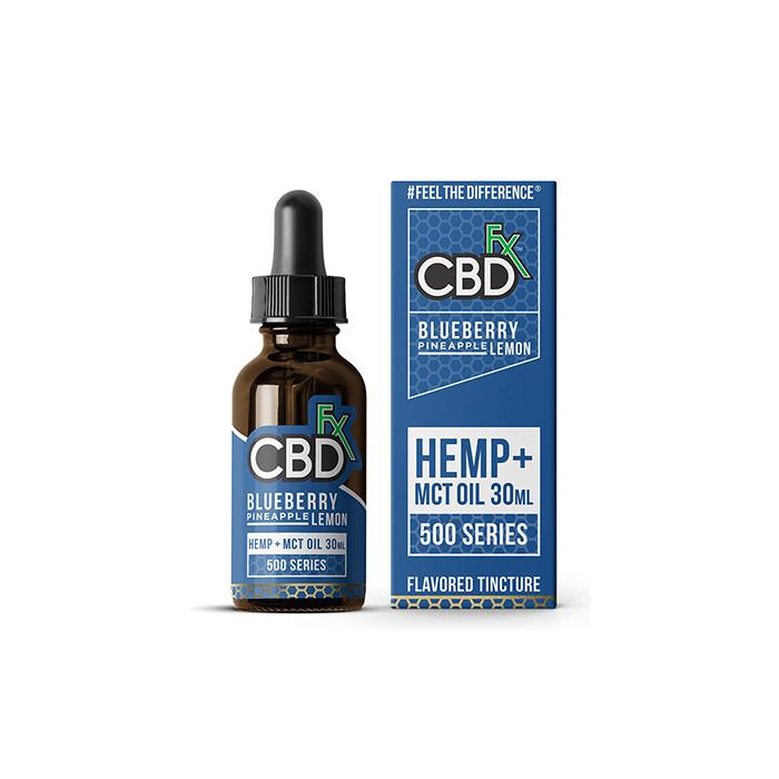 CBDfx Blueberry Pineapple Lemon 30ml CBD Tincture Oil – 500MG