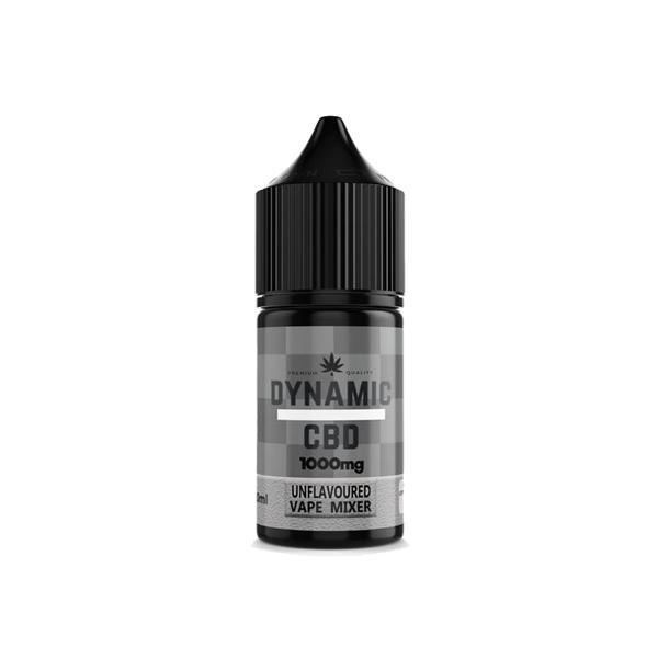 Dynamic CBD Unflavoured Vape Additive 1000mg 10ml