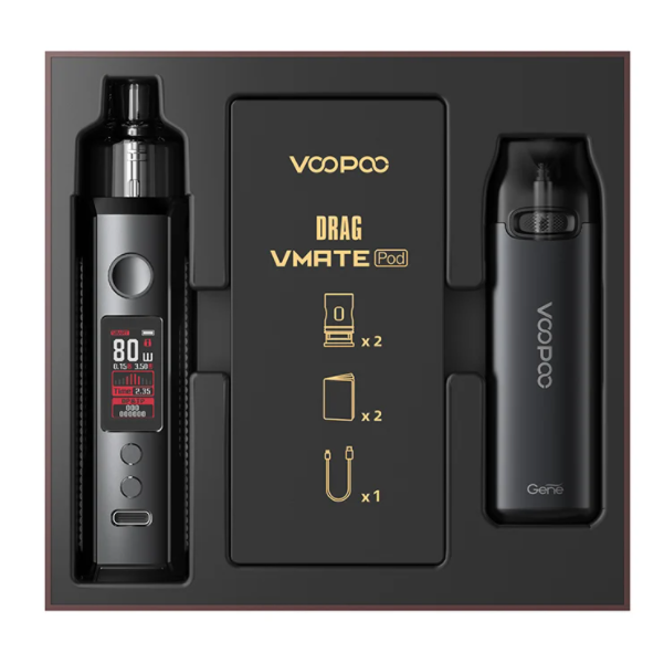 Voopoo Drag X & VMate Pod Kit – Limited Edition