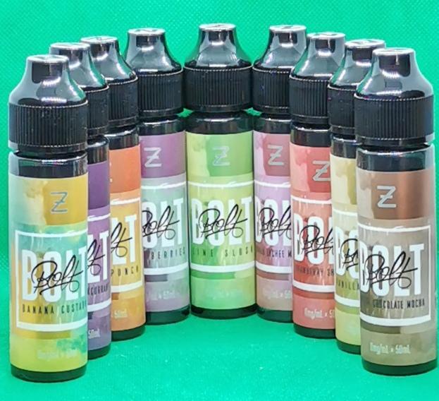 BOLT By Zeus Juice – 50ml Shortfill