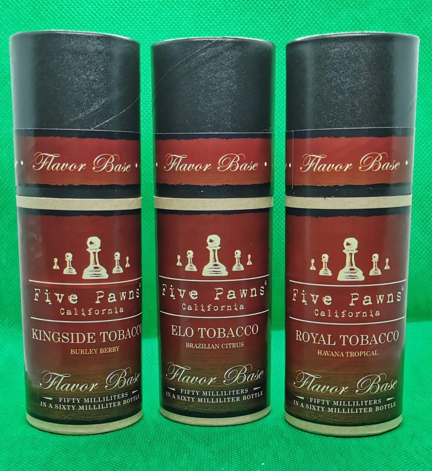 Tobacco Series By Five Pawns 50ml 0MG