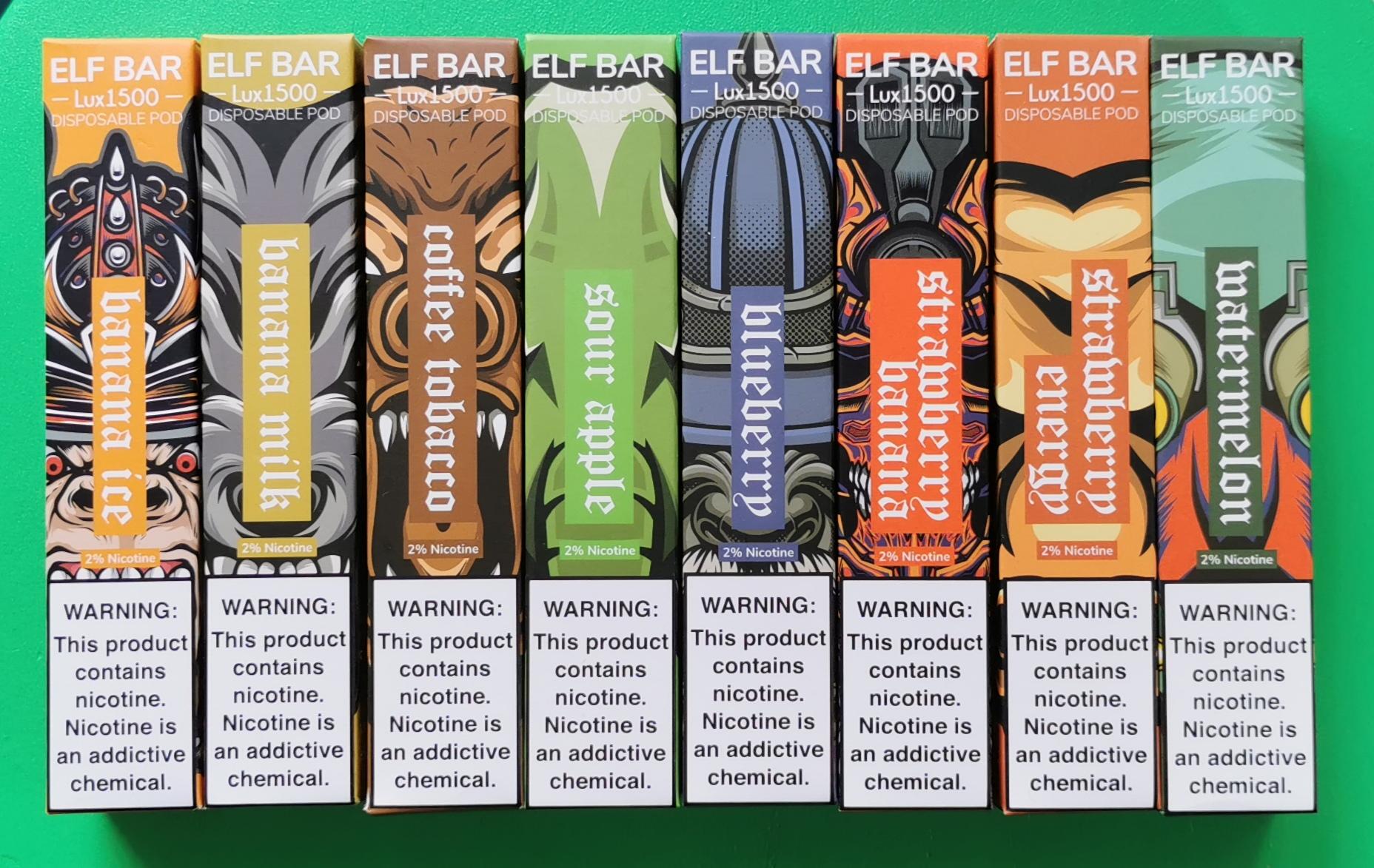 ELF Bar 1500LUX Disposable Vape Pen